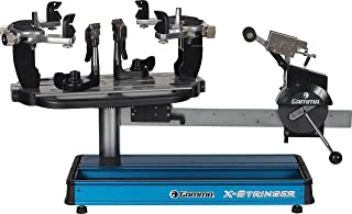 Gamma X-ST Racquet Stringing Machine: X-Stringer X-ST Tennis String Machine with Stringing Tools and Accessories - Tennis, Squash and Badminton Racket Stringer - Tabletop Racket Restring Machines