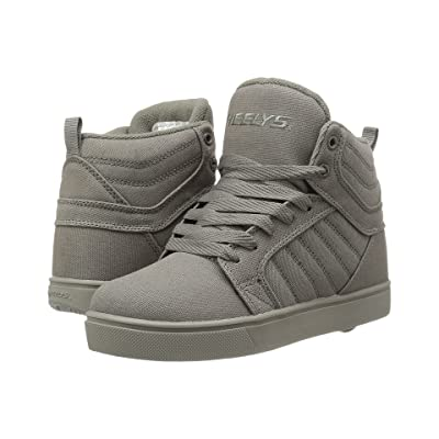 Heelys Uptown (Little Kid/Big Kid/Adult) (Grey Solid) Boys Shoes