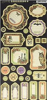 Graphic 45 Rare Oddities Journaling Chipboard