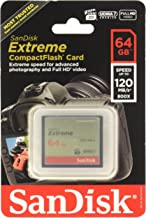 Sandisk Extreme CompactFlash Memory Card - 64 GB...