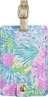 Lilly Pulitzer Women's Leatherette Luggage Tag