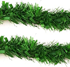 Urvi Creations PVC Artificial Merry Christmas Strings, Garlands for Tree Decoration and Home Decor -2 Pieces (Green)