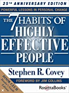 Cover image of The 7 Habits of Highly Effective People by Stephen R.  Covey
