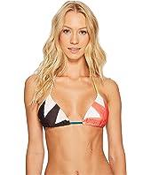 Mara Hoffman Superstar String Bikini Top