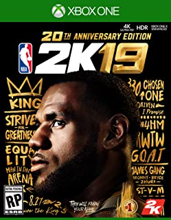 NBA 2K19 20th Anniversary Edition - Xbox One [Digital Code]