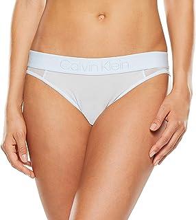 Calvin Klein Women's Tonal Logo Mesh Bikini