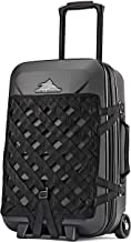 Hardside Luggage Suitcase with Spinner Wheels - Small 22 inch, TSA Approved Carry On, Expandable Travel Bag by High Sierra