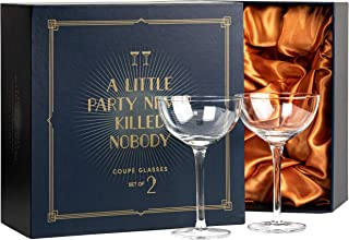 Best coupe cocktail glass Reviews