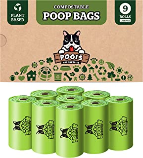 Pogis Compostable Poop Bags Biodegradable