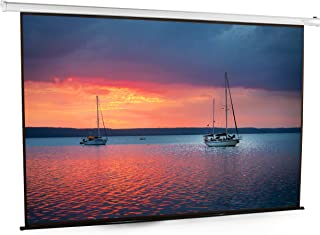 VIVO 100 inch Electric Motorized Projector Screen | 100 inch Diagonal Auto with Remote 4:3 Projection HD (PS-E-100E)