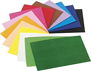 Faibo 944490 - Pack de 10 hojas gomas Eva, 20 x 30 mm, multicolor