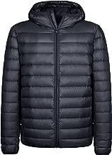 Wantdo Men's Hooded Packable Light Weight Down Puffer Jacket