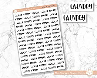 #915-016-051XL-WH Laundry Planner Stickers Rainbow Colored Tracking Stickers ScriptLaundry Content Planning Labels