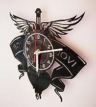 BON JOVI ROCK BAND Handmade Vinyl Record Wall Clock | Best Decor for Your Bedroom | Music Gifts | Rock Music Decor | It's ...