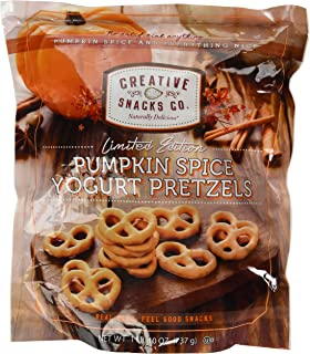 pumpkin yogurt pretzels