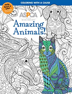 ASPCA Adult Coloring for Pet Lovers: Amazing Animals!
