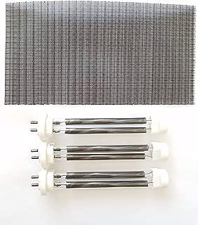 Set of 3 Double Life Bulbs/Heating Elements (1500 Watt) for EdenPURE GEN4 & USA1000 Infrared Heaters