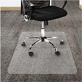 OfficeMarshal Estera de protección para alfombras - Alfombra de protección Silla | Protector Suelo Premium | Pet/PC Transparente | Varios tamaños (90x116 cm)