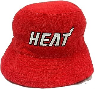 Mitchell & Ness Reef Miami Heat Red Bucket Hat