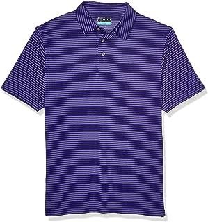 Men's Short Sleeve Feeder Stripe Polo Shirt