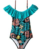 Splendid Littles - Farmhouse Floral One-Piece (Big Kids)