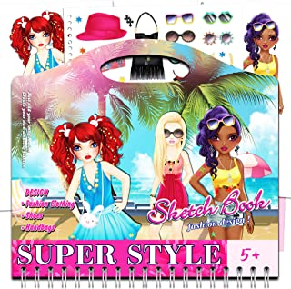 Toys World Shop Sketch Book Super Style Girls
