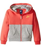 Nike Kids - Club Full Zip Hoodie Aop (Toddler)
