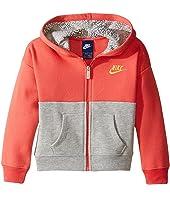 Nike Kids - Club Full Zip Hoodie Aop (Toddler)