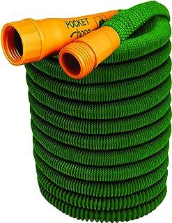 Pocket Hose Dura Rib Bullet 50-Foot Expandable Garden Hose by BulbHead