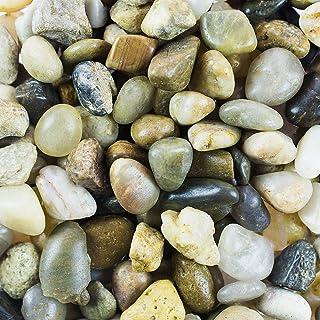 Mini Assorted Garden Beach Stone Rocks Pebbles Aquarium Lake Collection for Outdoor & Indoor Home Garden Decoration, Arts ...