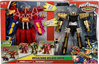 Power Rangers Deluxe 2 in 1 Epic Megazord Gift Set - Dino Charge and Ptera Charge