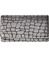 Jessica McClintock - Cassie Animal Print Mesh Clutch