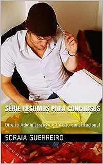 Série Resumos para Concursos: Direito Administrativo e Direito Constitucional (Portuguese Edition)