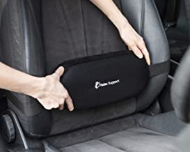 RELAX SUPPORT Car Seat Lumbar Roll Support Pillow RS5 Lower Back Cushion Driving Posture Corrector - Adjustable Pillow w/M...