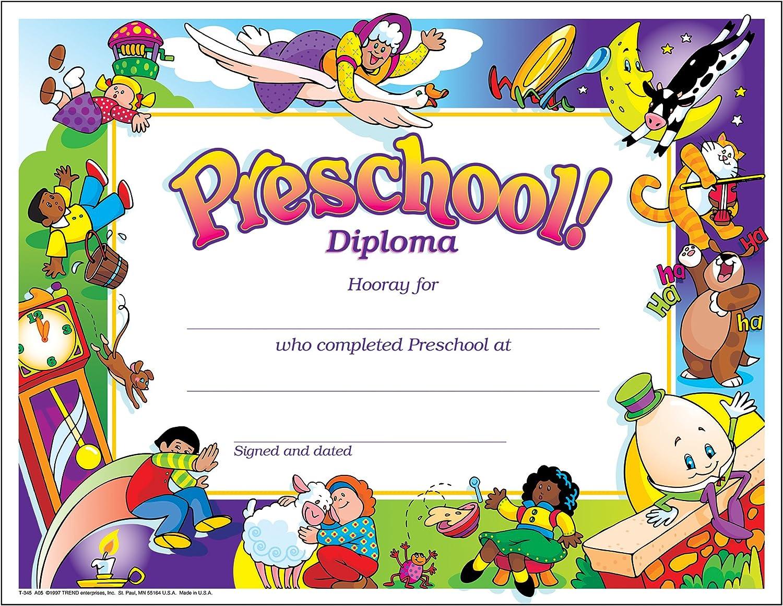Weekly update TREND enterprises Inc. Preschool Gorgeous 30 ct Diploma