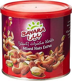 Bayara Snacks Mixed Nuts Extra Can, 225 gm (Pack of 1)