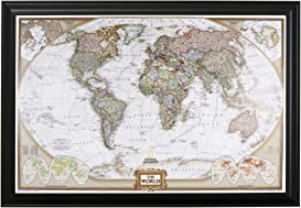 Explore world maps for pins