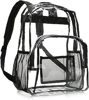 School Backpack - Clear