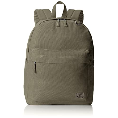 Everest Classic Laptop Canvas Backpack, Olive, One Size 332fd0aaf5