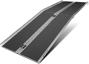 Titan Ramps 8' ft Aluminum Multifold Wheelchair Scooter Mobility Ramp portable 96