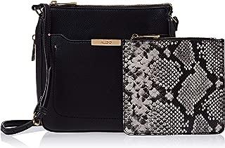 Aldo Crossbody Bag for Women, Polyester, Black - SALINIEL98