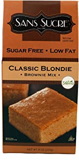 Sans Sucre Classic Blend Brownie Mix, 8-Ounce (Pack of 6)
