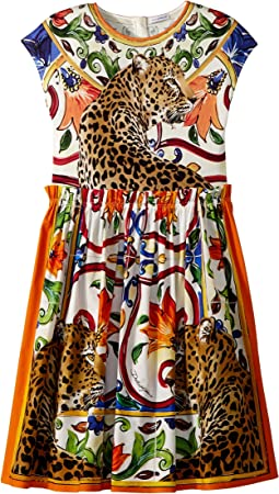 Dolce & Gabbana Kids - Short Sleeve Dress (Big Kids)