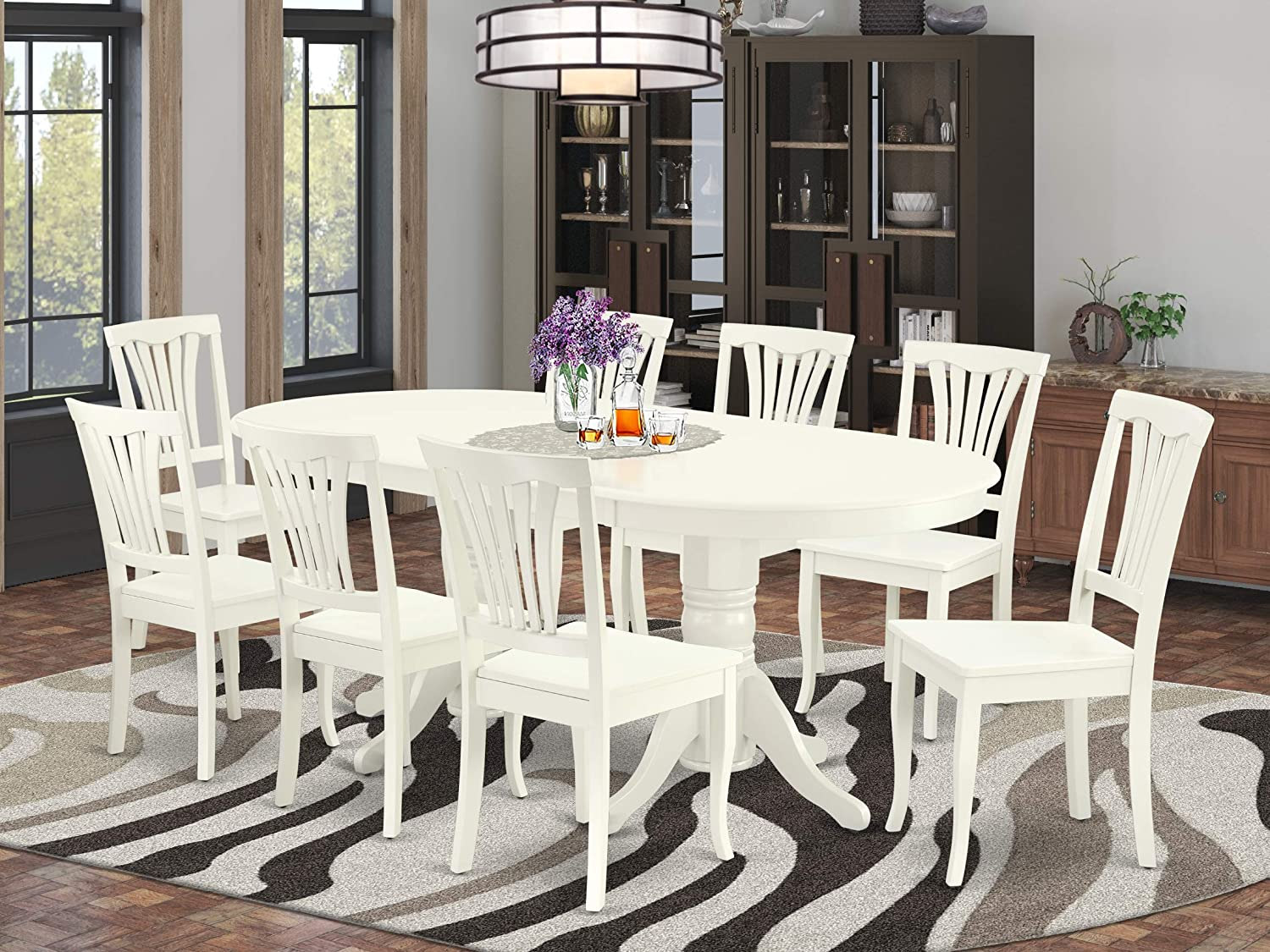 Buy 9 Pc Dining Room Set For 9 Dining Table With Butterfly Leaf ...