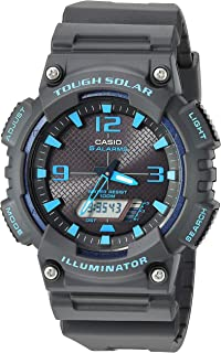 Casio Men's Tough Solar Stainless Steel Quartz Watch with...