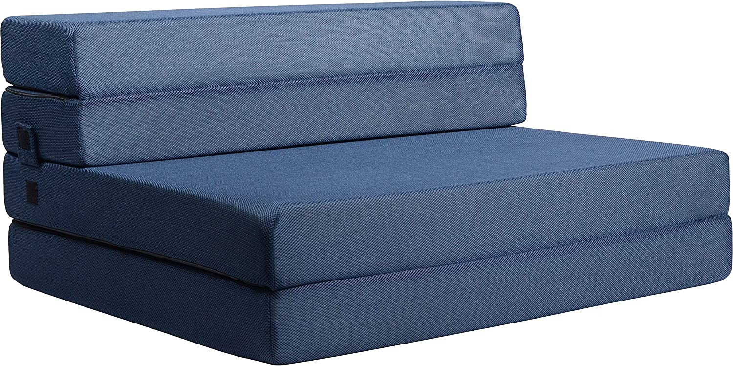 Milliard Tri-Fold Foam Folding List price Mattress Sofa Free shipping anywhere in the nation for and Bed Guests
