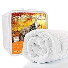Australian Made Merino Wool Quilt / Doona / Duvet (210x210cm Queen)