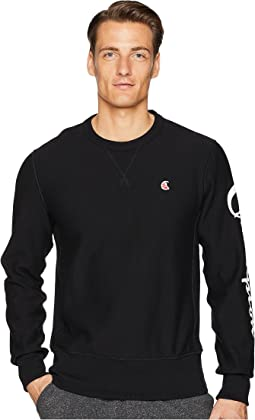 Sleeve Graphic Sweatshirt