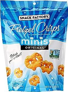 Snack Factory Pretzel Crisps Minis, Original Flavor, 6.2 Oz Bag