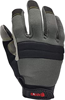 Winter Mechanic Work Gloves - KAYGO KG126W,Winter Insulated Double Lining,Heavy duty,Improved dexterity,Excellent Grip,Ideal for working on cars and outdoor jobs (1, Medium)